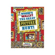 Where's Wally THE GREAT PICTURE HUNT LARGE book 6 by Martin Handford BRAND NEW