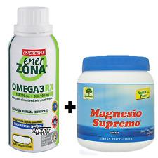 ENERZONA OMEGA 3 RX (EPA + DHA) 240 capsule da 1 grammo + MAGNESIO SUPREMO