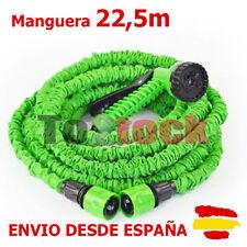 MANGUERA EXTENSIBLE 22,5 MT AGUA RIEGO JARDIN ENROLLABLE VISTO EN TV