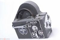 ✅ PATHE 16 WEBO M 16MM MOVIE C-MOUNT CINE CAMERA FOR PARTS OR REPAIR
