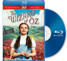 The Wizard of Oz 3D Blu-Ray starring Judy Garland with bonus lunch bag NEW
