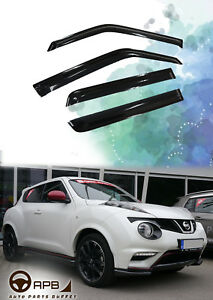 For Nissan JUKE 11-18 Deflector Window Visors Guard Vent Weather Shield