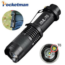 50000lm XM-L T6 LED Flashlight Torch 5 modes Zoom Tactical 18650 Lamp