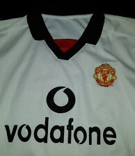 Manchester United Official Jersey Men's Medium  White # 10