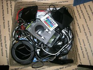 LOT OF MISCELLANEOUS ELECTRONICS & CABLES  Box 1