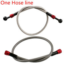 575 mm Motorbike M 10 Hydraulic Weaving Brake Oil Hose With Detachable Joint