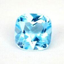 TOP TOPAZ : 7,29 Ct Natürlicher Blau Topas aus Brasilien