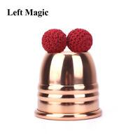 Super Copper Chop Cup (Diamter 7cm) - Magic Tricks Cup And Balls Close Up Props
