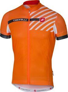 Castelli Free AR 4.1 Men's Cycling Jersey Orange Size Small