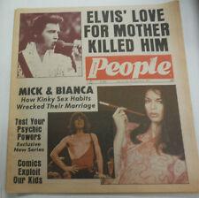 Modern People Magazine Elvis Presley & Mick Jagger October 1977 081415R