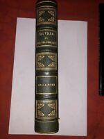 ATALA RENE-LE DERNIER ABENCERAGE - LES NATCHEZ - POESIE -CHATEAUBRIAND VERS 1860