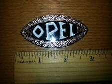 Vintage style reproduction, 1910-1933 Opel Eye Radiator emblem / badge
