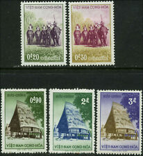 Viet Nam Scott #63 - #67 Complete Set of 5 Mint Hinged