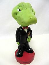 "Winking Lizard Bobblehead - Bosley Bobbers 7"" tall - LOOSE no box - holding Menu"