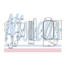 Genuine Hella RADIATOR TRANSMISSION OIL//AIR COOL 8MO376726-401 OE 1695000200