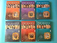 Lot de 6 coffrets FRIENDS DVD saisons 1 2 3 4 5 8 Zone 2 neufs Jennifer Aniston