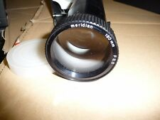 Projector lens SLIDE MERIDIAN F3.5 180mm screw thread 50mm black case.. G47