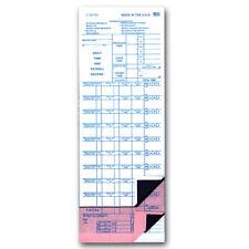 Mechanic's Daily Time & Job Ticket - JT-VW Flag Sheets - Quantity 1000