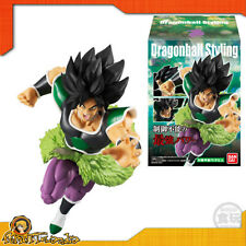 Dragonball Z Mini Styling Broly Bandai Figure Figurine Official 14cm Original