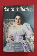 EDITH WHARTON 3-NOVELS-IN-1 AGE OF INNOCENCE & TWO OTHERS (HC/DJ, 1996)