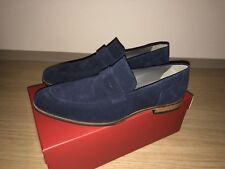 Hugo Boss Mokassins Gr 10,5 44,5 Schuhe Herren Slipper C-Modelo Leder NEU