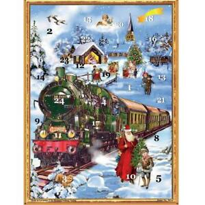 Richard Sellmer 2021 Advent Calendar Train in the Snow FREE UK Postage