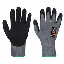 Portwest CT69 CT AHR+ Nitrile Foam Coated Cut Protection Grip Work Gloves 12 Pck