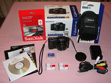 SONY DSC H20 CAMERA Bundle + 4 BONUS ITEMS + Choices + BONUS MAGIC DVD