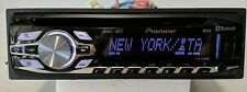 PIONEER DEH-6400BT USB MP3 CD Player In Dash BLUETOOTH Receiver - Tested Fully -