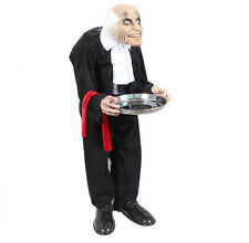 Creative Butler Halloween Hanging Ghost House Props Voice Control Decoration