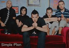SIMPLE PLAN - A3 Poster (ca. 42 x 28 cm) - Clippings Fan Sammlung NEU