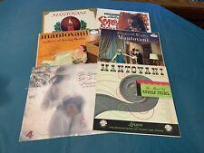 Mantovani Vinyl LP Lot Of 6 Christmas Greetings