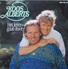 KOOS ALBERTS - HET LEVEN GAAT DOOR - LP