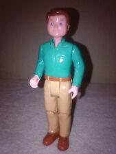 Loving Family Brown Hair Green Shirt Tan Pants Dad Father Dream Dollhouse