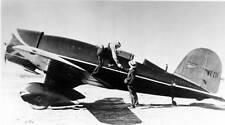 Old Photo.  Lockheed Sirius Racing Airplane