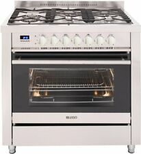 Kitchen 90cm freestanding DUAL FUEL COOKER  #FS909G5SSD