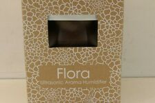 USB AC Flora Sphere Ultrasonic Aroma Humidifier Color Change LED Walnut