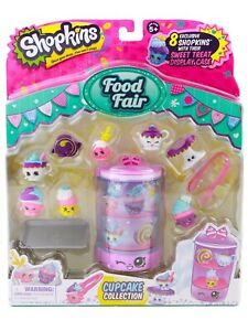 Shopkins Food Fair Cupcake Collection Set Season 2 Bakery