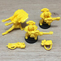 Space Crusade Imperial Fists Space Marines Tarantula Team + Heavy Weapons