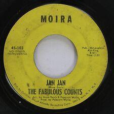 Hear! Northern Soul 45 The Fabulous Counts - Jan Jan / Girl From Kenya On Moira