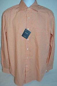 BREUER Man's Dress Shirt NEW Size Large 41 Neck 16  Made in ITALY  Retail $275