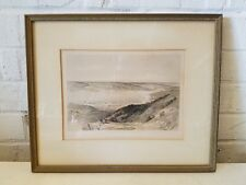 David Roberts 1855 Lithograph Plate 36 Sea of Tiberas Bashan