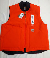 Carhartt V01 Duck Vest Arctic Quilt Lined LARGE ORG [CBX45-01] Ready to ship!!!