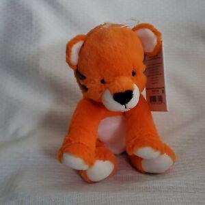 NWT Carter's Just One You Orange Tiger Rattle Plush Stuffed Animal