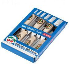 Kirschen Stechbeitelsatz 6 teilig Karton 1111000 6 10 12 16 20 26 mm Stecheisen