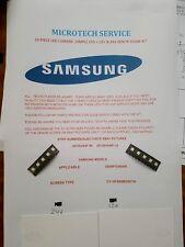 SAMSUNG UE40F5300AK 2013SVS40F R5 2013SVS40F L8 10 PEZZI 12V 24V Zenor leggere annuncio