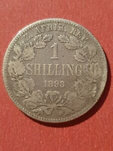 RARE South Africa 1893 Shilling