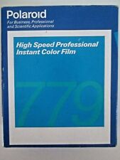 Polaroid High Speed Professional 779 Instant Color Film Box 20 Photos Expired