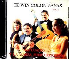EDWIN COLON ZAYAS - EL CUATRO Y LA DANZA PUERTORRIQUEÑA - CD