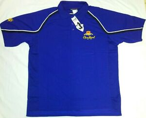 New! ! Crown Royal Chase Authentic Drivers Line Polo Shirt #26